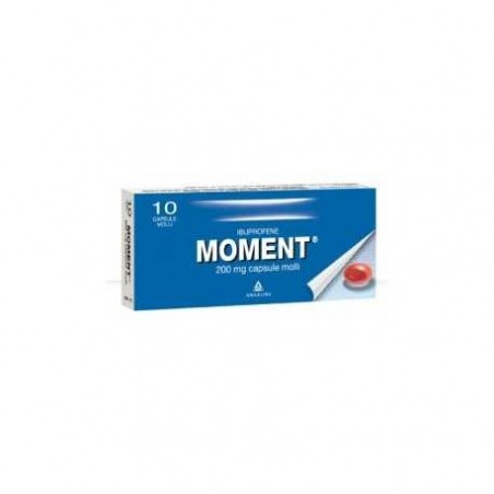 Angelini - moment 10 capsule molli 200 mg