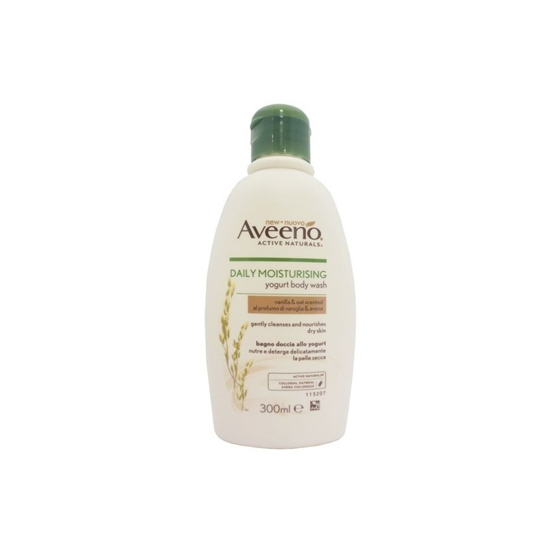 Aveeno - Daily Moisturising Yogurt Body Wash Vanilla and Oat Scented 300 ml