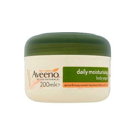 Aveeno - Daily Moisturising Body Yogurt Apricot and Honey Scented  200 ml