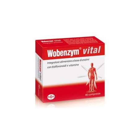 NAMED - Supplement Wobenzym Vital 120Cpr