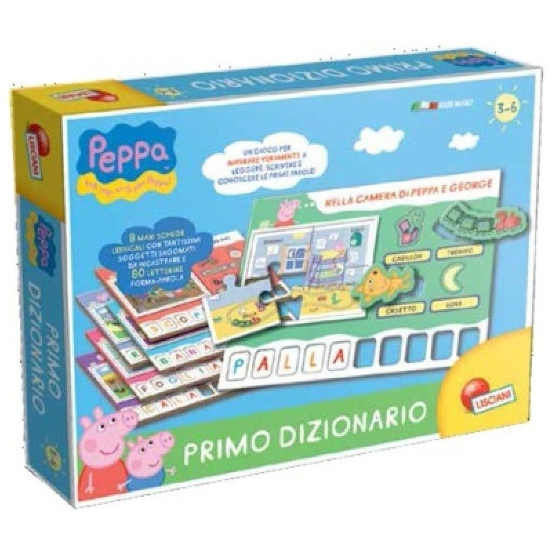 LISCIANI - Peppa Pig Extreme Dictionary For Children 3 - 6 Years