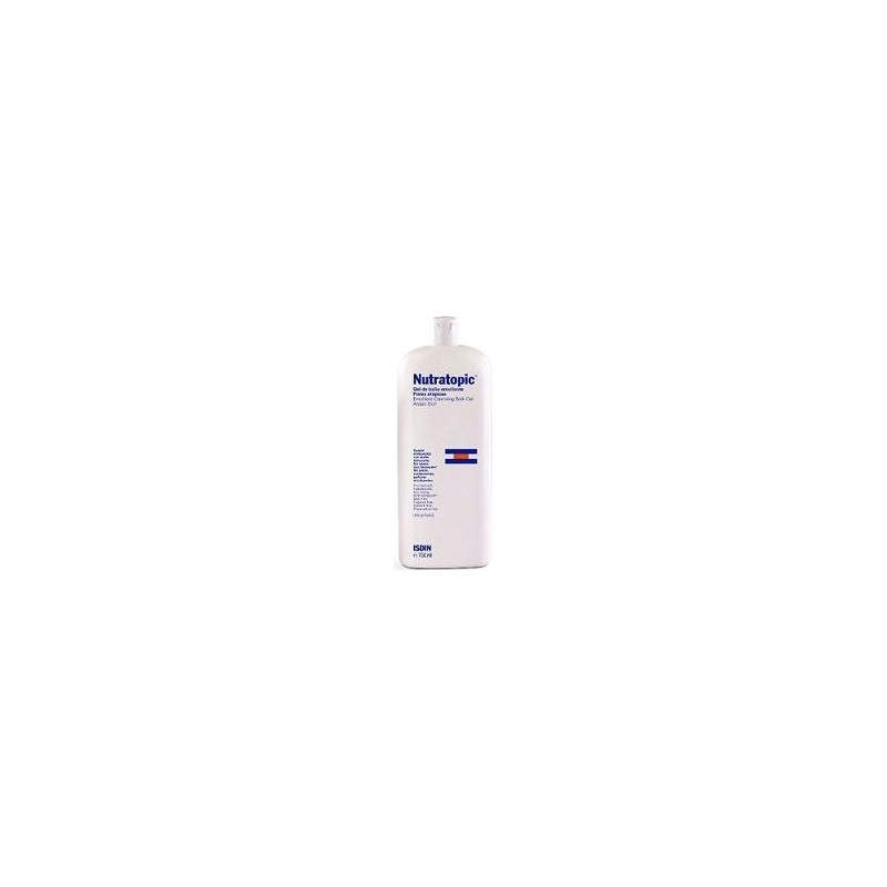 ISDIN - Nutratopic - Cleansing Gel For Face 400 Ml
