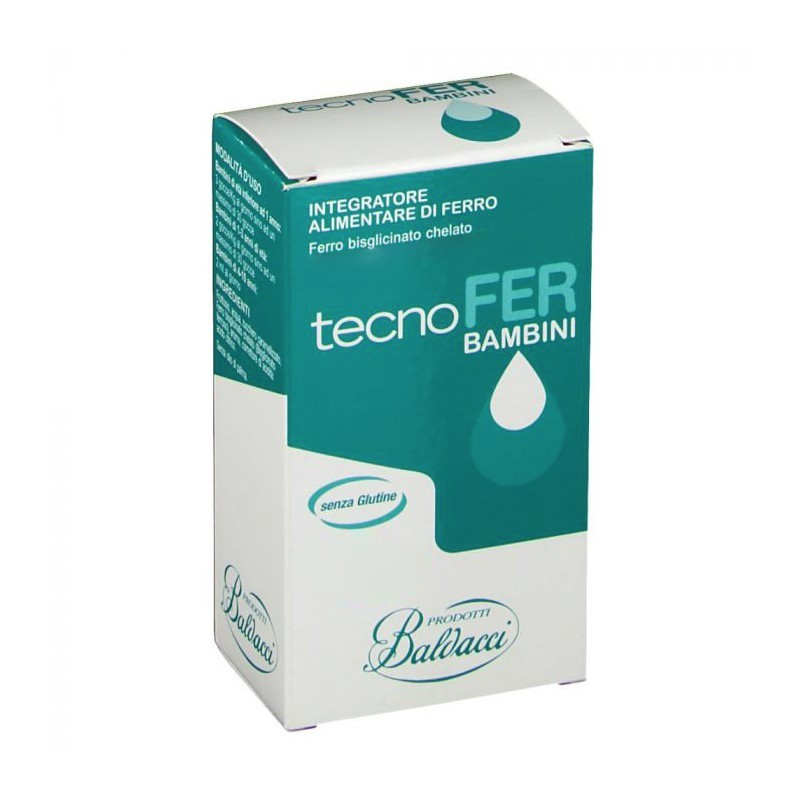 LABORATORI BALDACCI - Supplement With Iron For Children TecnWither Drops 30 Ml