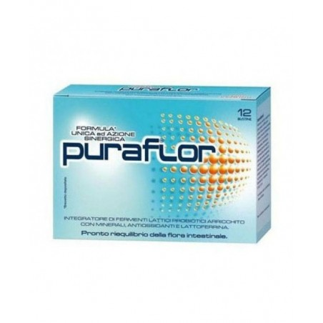 PFIZER - puraflor - probiotics supplement 12 packets