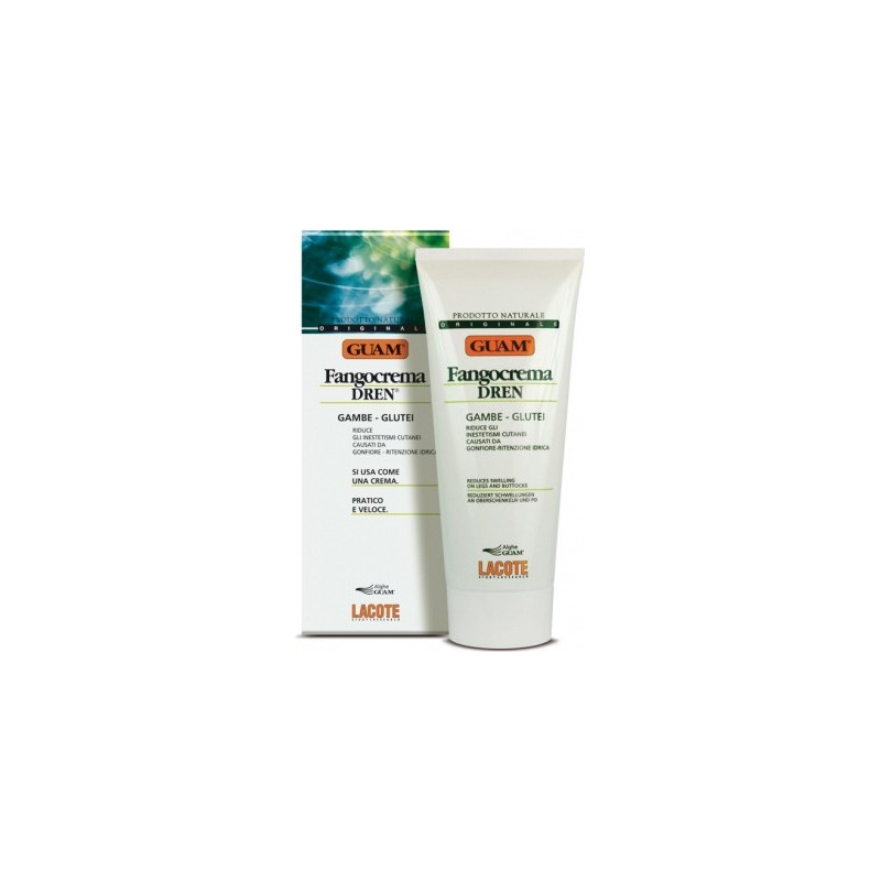 GUAM - Mud Cream Fangocrema Legs and Buttocks 200 ml