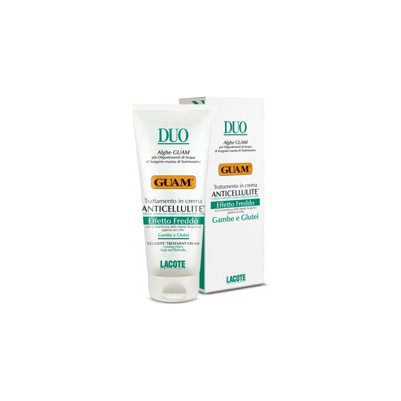 GUAM - Duo Cellulite Treatment Cream Cooling Effect Legs And Buttocks 200 ml