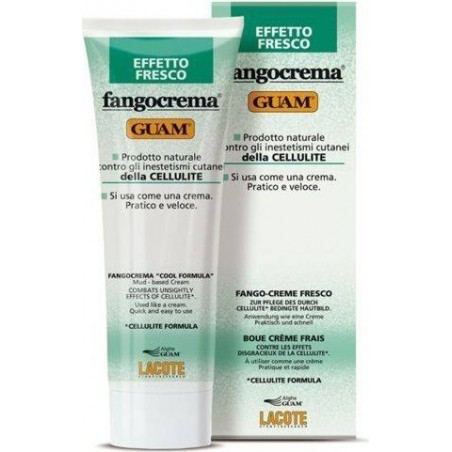 GUAM - Mud Cream Fangocrema Fresh Effect Against Cellulite 250 ml