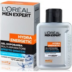 Men Aftershave Gel Ice Effect Immediate Expert Hydra Energetic 100 Ml