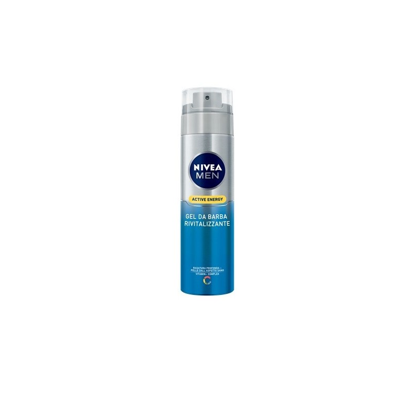 NIVEA - Shaving Gel With Q10 Skin Energy For Men 200 Ml