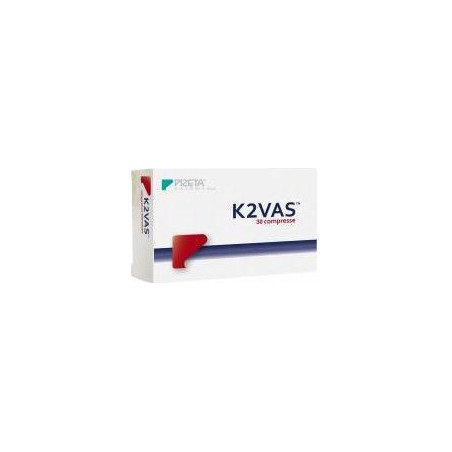 PIZETA PHARMA - Supplement K2Vas For The Wellness Of Bones 30 Capsule