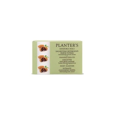 PLANTER S - Intimate Cleansing Wipes For Persona Hygiene Sweet Almond 10 sachets
