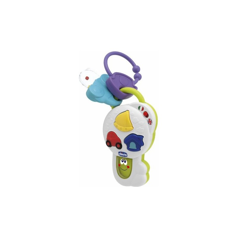 Chicco - Toy Talking Key 6 Months +