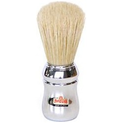 Shaving Brush With Long Bristles Chrome Handle 48