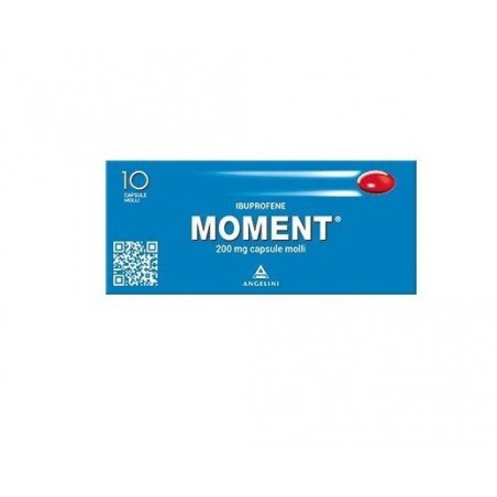 Angelini - Moment - ibuprofen 200 mg - 10 soft capsuless