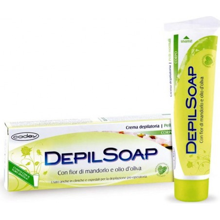 DEPILSOAP - Body Hair Removal Cream Almond Blossom For Normal Skin 150 Ml