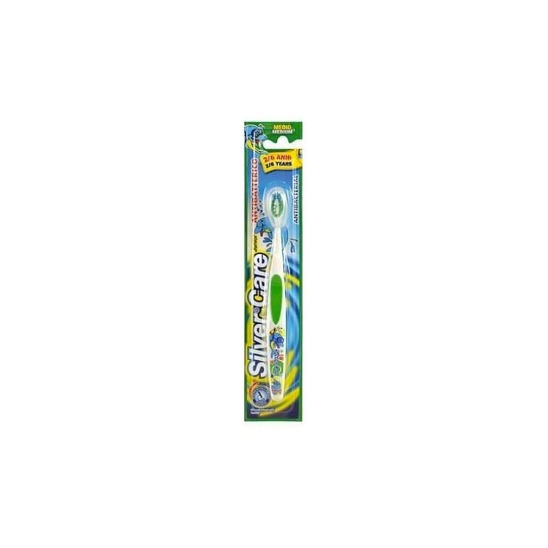 SILVER CARE - Toothbrush Manual Children Silvercare Junior 2 - 6 Years