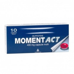 moment act 400mg - ibuprofen 10 soft capsules