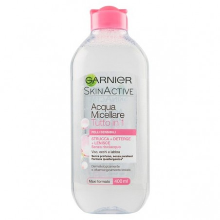 GARNIER - Aqua Micellare Facial Cleanser Sensitive Skin 400 ml