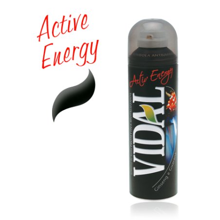 VIDAL - Shaving Foam Active Energy With Ginseng And Guarana 300 Ml