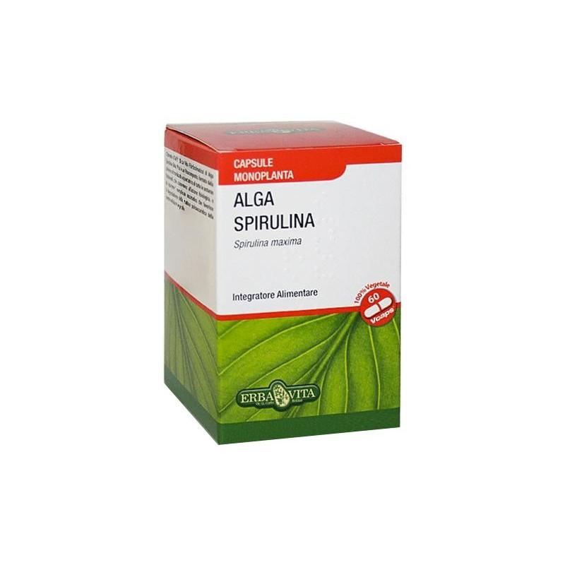 ERBA VITA - Supplement Alga Spirulina 60 Capsule