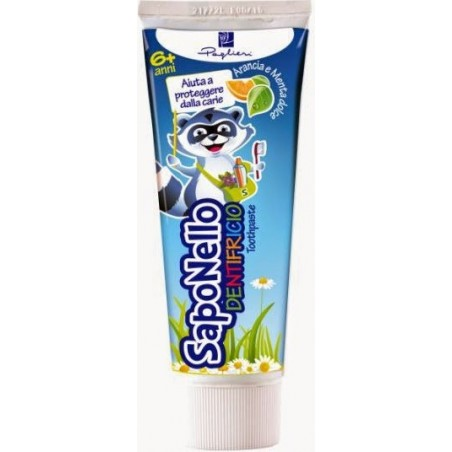 SAPONELLO - Children Toothpaste Taste Sweet Orange And Mint 6+ 75 Ml