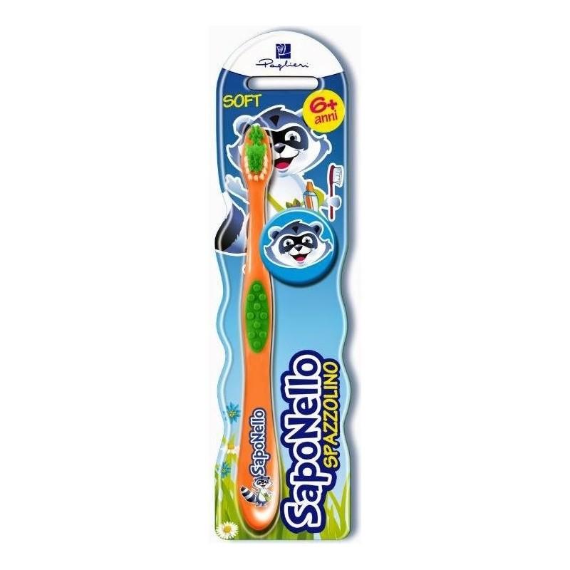 SAPONELLO - Toothbrush Children Soft 6 Years +