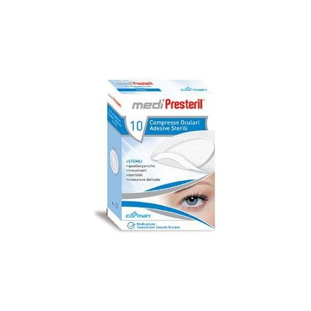 MEDIPRESTERIL - Tablets Ocular Sterile Adhesive 10 Pieces