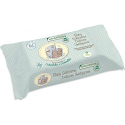 Bio Organic Delicate Wipes 64 Pieces