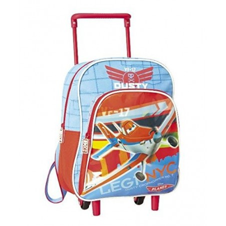 DISNEY - Backpack Trolley For School Planes 29 cm