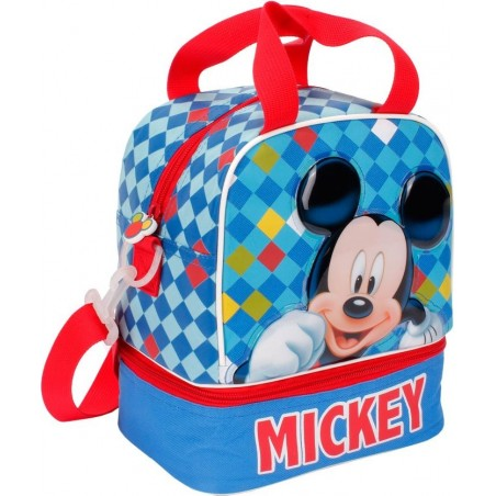 DISNEY - Baby Lunch Bag With Handles And Shoulder Bag Mickey Mouse 23 cm