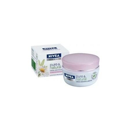 NIVEA - Cream Pure & Natural Soothing Facial For Dry And Sensitive Skin 50 Ml
