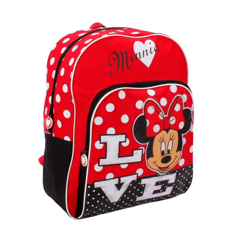 DISNEY - Backpack For School Minnie Love 42 cm
