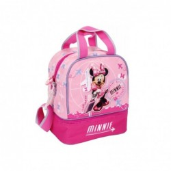 Baby Lunch Bag With Handles And Shoulder Bag Minnie Voyage 23 cm