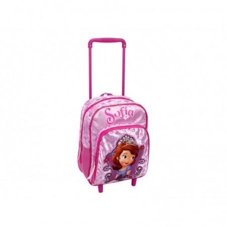 DISNEY - Backpack Trolley For School Princess Sophia 29 cm