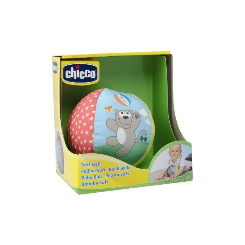 Chicco - Soft ball - toy 6m+
