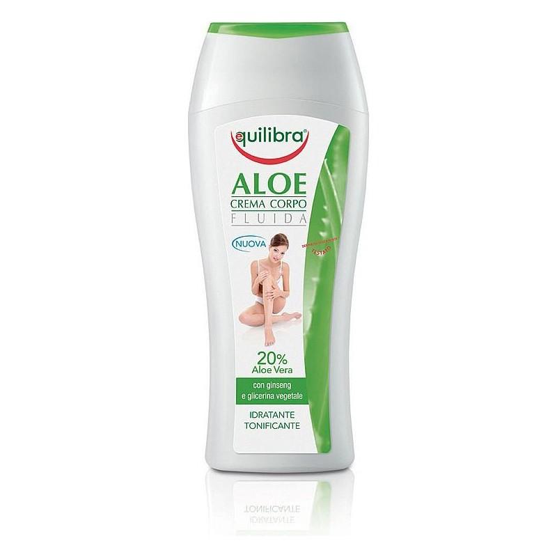 EQUILIBRA - Cream Body Lotin Moisturizing And Purifying Aloe 250Ml