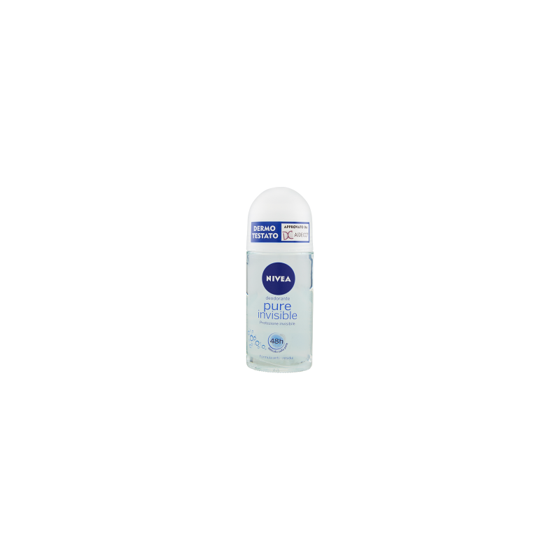 NIVEA - Pure Invisible - Roll-On Deodorant 50 ml