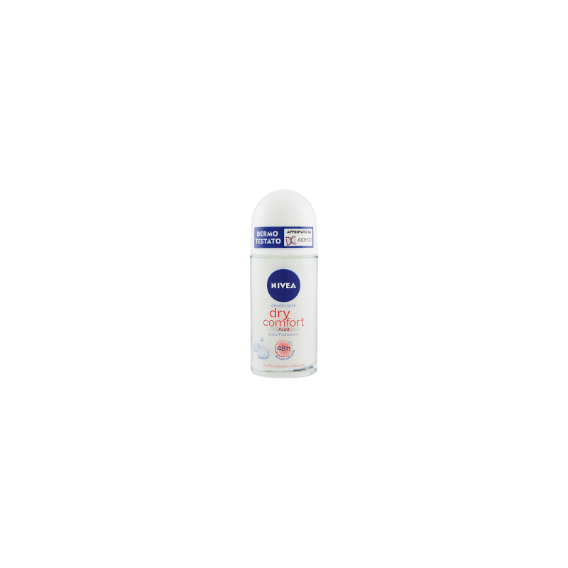 NIVEA - Dry Comfort Plus - Roll-On Deodorant 50 ml
