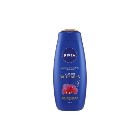 NIVEA - Creme & Oil Pearls Oil Infused Shower Cream Shent of Cherry Blossom 500 ml