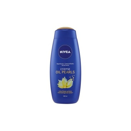 NIVEA - Creme & Oil Pearls Infused Shower Cream Shent of Lotus Flower 500 ml