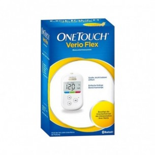 one touch verio flex system kit blood glucose monitoring