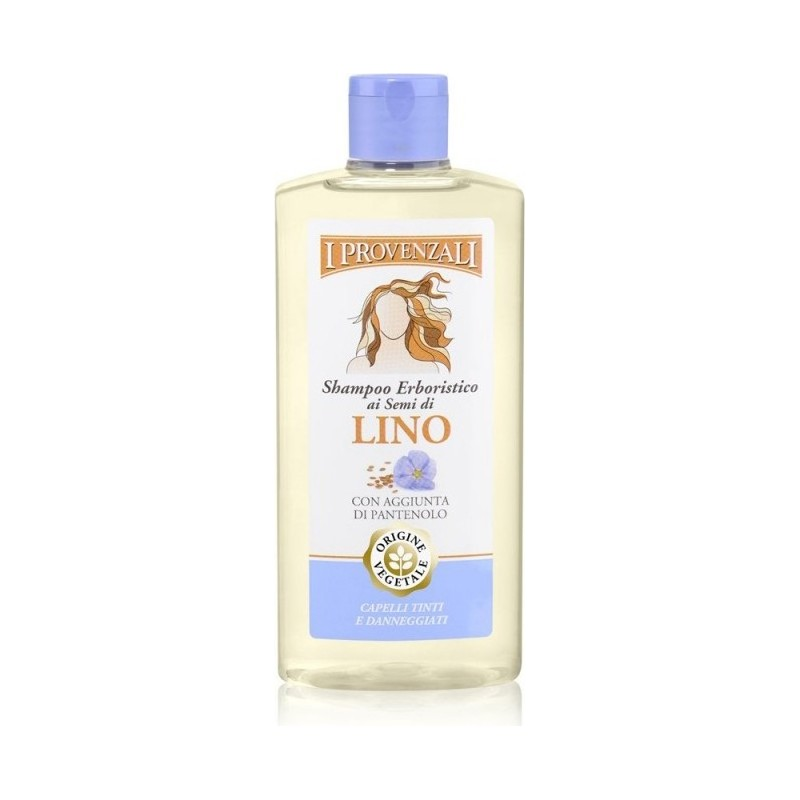 I Provenzali - Shampoo With Linseed Restructuring 250 ml