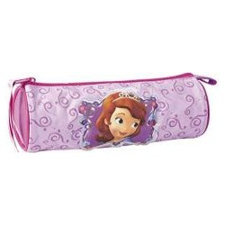 Girls Pencil Case cylindrical Proncess Sofia