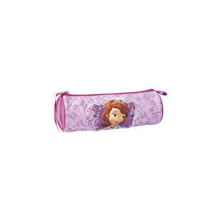 DISNEY - Girls Pencil Case cylindrical Proncess Sofia