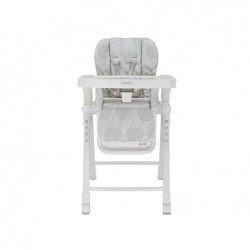Highchair Baby Meal Giusto Color Silver 2015