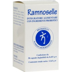 dietary supplement with probiotics ramnoselle 30 capsules