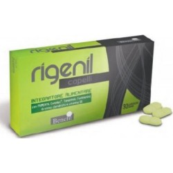 Supplement Rigenil To Counteract The Aging Hair 30 Tablets
