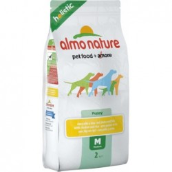 Puppy Food Holistic Medium with Chicken and Rice 2 Kg