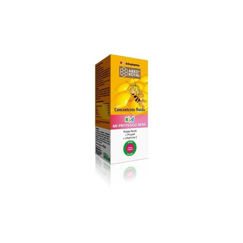 ARKOPHARMA - Supplement mi proteggo royal jelly propolis Vitamin C 150 ml