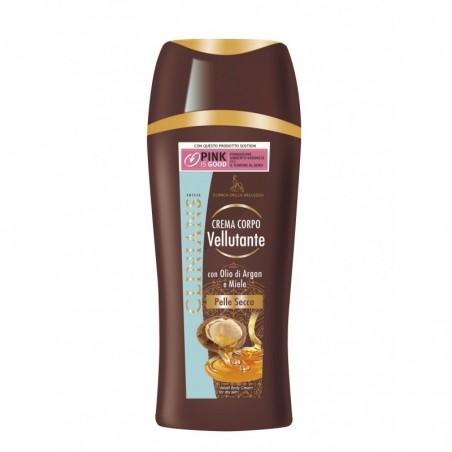 Clinians - Silky body cream with argan oil and honey 250 ml